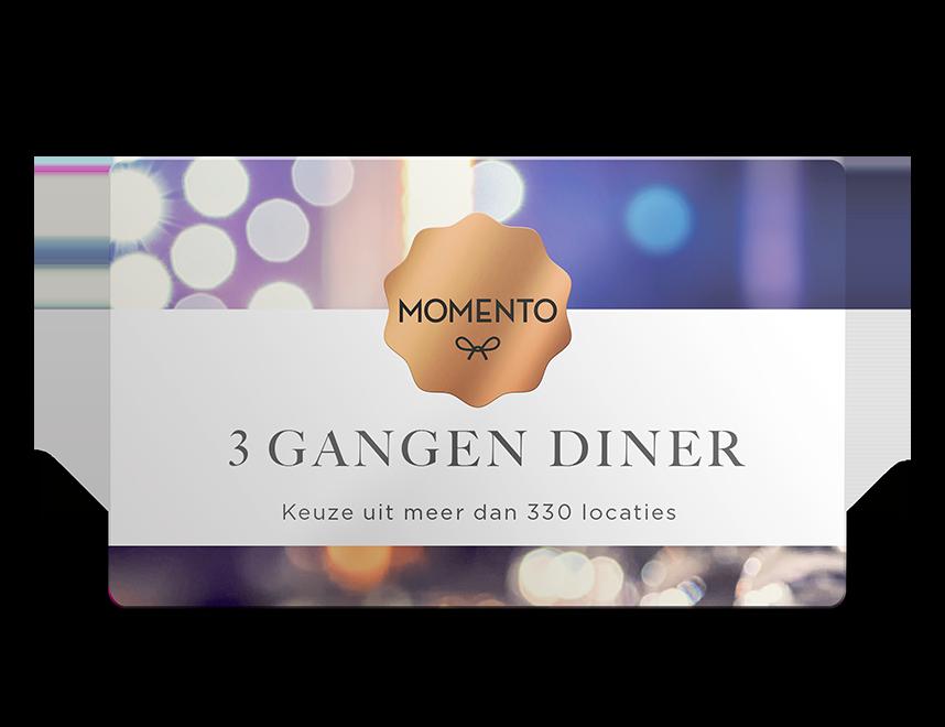 Momento Drie Gangen diner